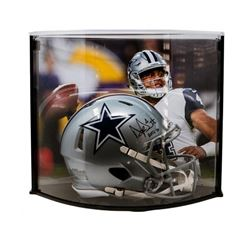 """Dak Prescott Signed LE Dallas Cowboys Full-Size Authentic On-Field Speed Helmet Inscribed """"ROTY 16"""""""