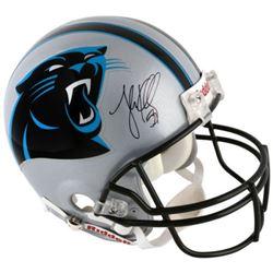 Luke Kuechly Signed Carolina Panthers Full-Size Authentic On-Field Helmet (Fanatics Hologram)