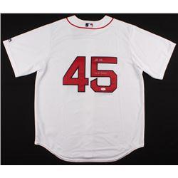 "Pedro Martinez Signed Boston Red Sox Jersey Inscribed ""04 WS Champs"" (JSA COA)"