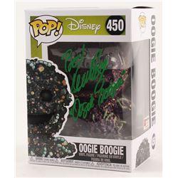 "Ken Page Signed ""The Nightmare Before Christmas"" - Oogie Boogie #450 Funko Pop! Vinyl Figure Inscrib"