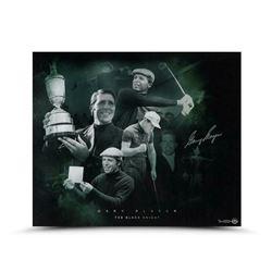 "Gary Player Signed ""Black Night"" Limited Edition 20x24 Photo (UDA COA)"
