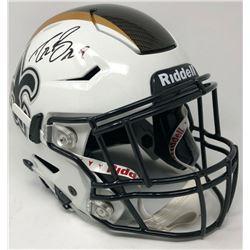 Drew Brees Signed New Orleans Saints Full-Size Authentic On-Field SpeedFlex Helmet (Steiner COA)