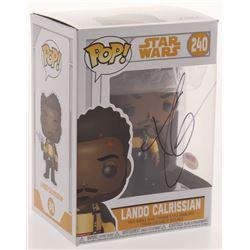 "Donald Glover Signed ""Star Wars"" #240 Lando Calrissian Funko Pop Figure (PSA COA)"