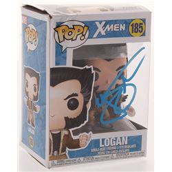 "Hugh Jackman Signed ""X-Men"" #185 Logan Funko Pop Figure (PSA COA)"