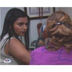 "Mindy Kaling Signed ""The Office"" 8x10 Photo (PSA COA)"