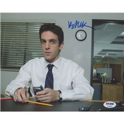 "B. J. Novak Signed ""The Office"" 8x10 Photo (PSA COA)"