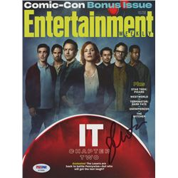 Jessica Chastain Signed 2019 Entertainment Weekly Magazine (PSA COA)