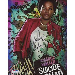 "Viola Davis Signed ""Suicide Squad"" 8x10 Photo (PSA COA)"