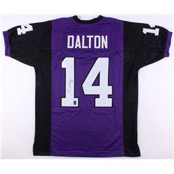 Andy Dalton Signed Jersey (JSA COA  Dalton Hologram)