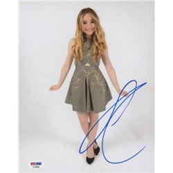 Sabrina Carpenter Signed 8x10 Photo (PSA COA)