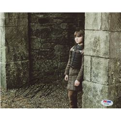 "Isaac Hempstead Wright Signed ""Game of Thrones"" 8x10 Photo (PSA COA)"