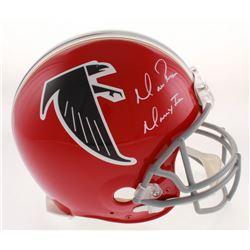 "Matt Ryan Signed Atlanta Falcons Full-Size Authentic On-Field Throwback Helmet Inscribed ""Matty Ice"""