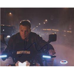 """Matt Damon Signed """"Jason Bourne"""" 8x10 Photo (PSA COA)"""