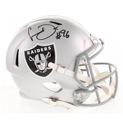 Clelin Ferrell Signed Oakland Raiders Full-Size Speed Helmet (Radtke COA)