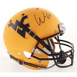 Will Grier Signed West Virginia Mountaineers Full-Size Helmet (Radtke COA)