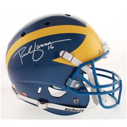 Rich Gannon Signed Delaware Fightin' Blue Hens Full-Size Helmet (Radtke COA)