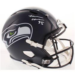 L. J. Collier Signed Seattle Seahawks Full-Size Speed Helmet (Radtke COA)
