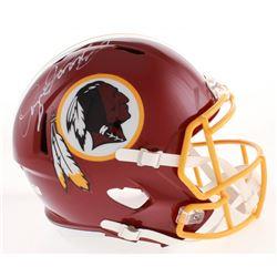 Dwayne Haskins Signed Washington Redskins Full-Size Speed Helmet (Radtke COA)