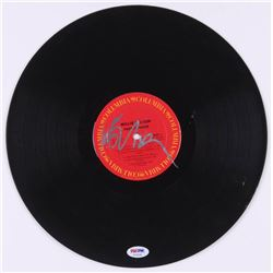 "Willie Nelson Signed ""Pretty Paper"" Vinyl Record (PSA COA)"