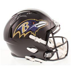 Jamal Lewis Signed Baltimore Ravens Full-Size Speed Helmet (Radtke COA)