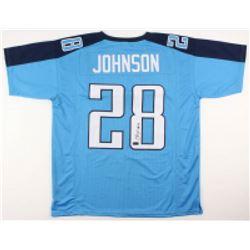 Chris Johnson Signed Jersey (Radtke COA)