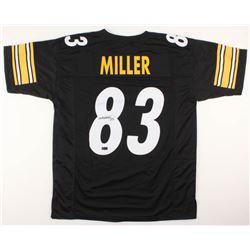 Heath Miller Signed Jersey (Radtke COA)