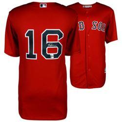 Andrew Benintendi Signed Boston Red Sox Jersey (Fanatics Hologram  MLB Hologram)