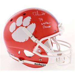 Dexter Lawrence Signed Clemson Tigers Full-Size Helmet (Radtke COA)