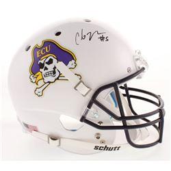 Chris Johnson Signed East Carolina Pirates Full-Size Helmet (Radtke COA)