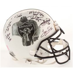 """Oakland Raiders """"Greats"""" Full-Size Authentic On-Field Helmet Signed By (21) With Jim Otto, Odis McKi"""
