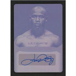 2019 Leaf Ultimate Sports Signatures Printing Plates Magenta #USFM1 Floyd Mayweather Jr.