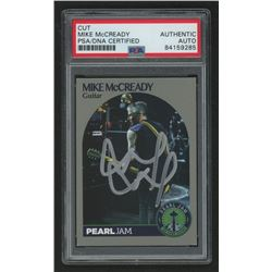 Mike McCready Signed Pearl Jam Trading Card (PSA Encapsulated)