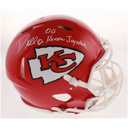 "Dante Hall Signed Kansas City Chiefs Full-Size Authentic On-Field Speed Helmet Inscribed ""OG Human J"