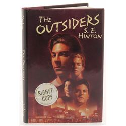 """S. E. Hinton Signed """"The Outsiders"""" Hardcover Book Inscribed """"Stay Gold!"""" (PSA COA)"""