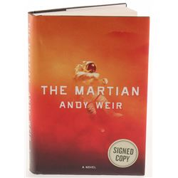 "Matt Damon  Andy Weir Signed ""The Martian"" Hardcover Book (PSA Hologram)"