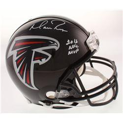 "Matt Ryan Signed Atlanta Falcons Full-Size Authentic On-Field Helmet Inscribed ""2016 NFL MVP"" (Fanat"