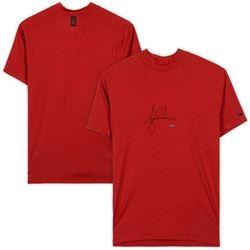 Tiger Woods Signed Nike Red Vapor Dry Mock Turtleneck Shirt (UDA COA)