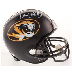 Drew Lock Signed Missouri Tigers Full-Size Helmet (Radtke COA)