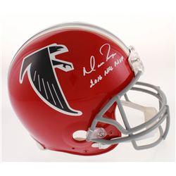 "Matt Ryan Signed Atlanta Falcons Full-Size Authentic On-Field Throwback Helmet Inscribed ""2016 NFL M"