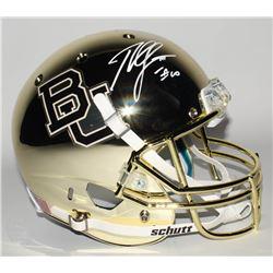 Robert Griffin III Signed Baylor Bears Full-Size Chrome Helmet (Radtke COA)