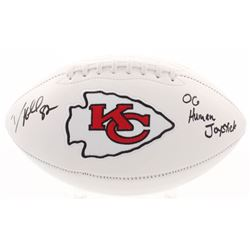 "Dante Hall Signed Kansas City Chiefs Logo Football Inscribed ""OG Human Joystick"" (Radtke COA)"