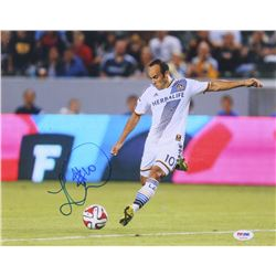 Landon Donovan Signed LA Galaxy 11x14 Photo (PSA COA)