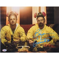 "Bryan Cranston  Aaron Paul Signed ""Breaking Bad"" 11x14 Photo (PSA COA)"