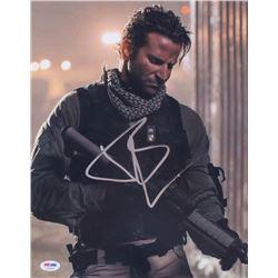 "Bradley Cooper Signed ""American Sniper"" 11x14 Photo (PSA COA)"