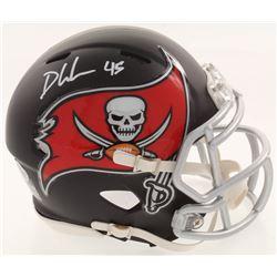 Devin White Signed Tampa Bay Buccaneers Matte Black Speed Mini-Helmet (Beckett COA)