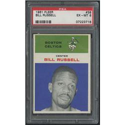 1961-62 Fleer #38 Bill Russell (PSA 6)