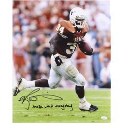 "Ricky Williams Signed Texas Longhorns 16x20 Photo Inscribed ""Smoke Weed Everyday"" (JSA COA)"