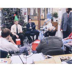 """Steve Carell  Rainn Wilson Signed """"The Office"""" 11x14 Photo (PSA COA)"""