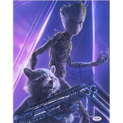 """Bradley Cooper  Vin Diesel Signed """"Avengers: Endgame"""" 11x14 Photo (PSA COA)"""
