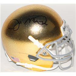 Joe Montana Signed Notre Dame Fighting Irish Mini Helmet (JSA COA)